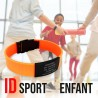 Bracelet Enfant SPORT identification Silicon | MonBracelet.re